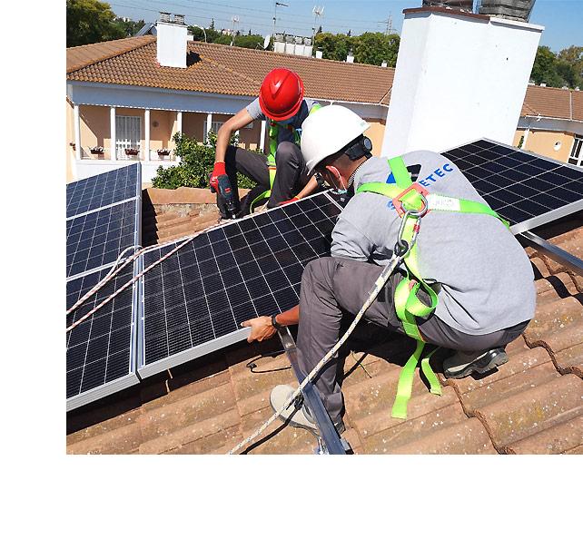 Instaladores placas solares Sevilla