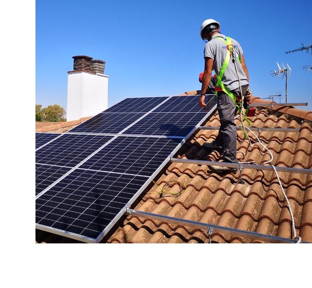 Placas solares en Cádiz